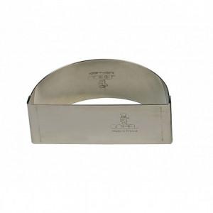 Emporte Pièce Inox Demi-Cercle 8,5 x 4,5 cm x H 3 cm Gobel