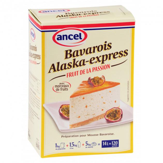 Preparation bavarois Alaska-Express Fruit de la passion 1 kg Ancel