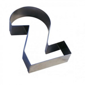 Chiffre inox 2 Moule-Découpoir 200mm Gobel