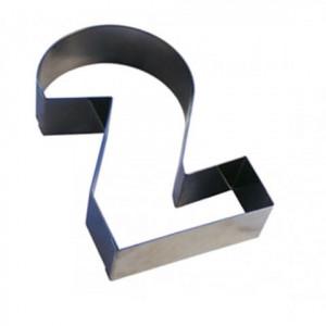 Chiffre inox 2 Moule-Découpoir 300 mm Gobel