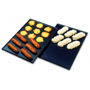 Plaque à Pâtisserie anti-adhésive Exal GN 1/1 53 x 32,5 cm