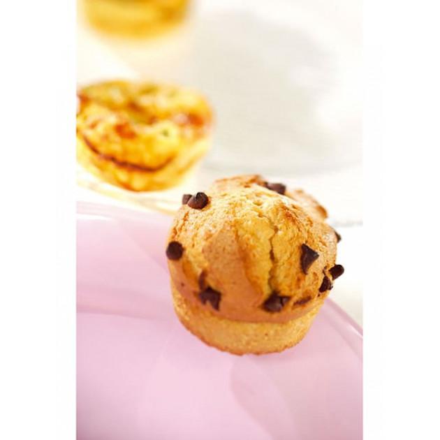 Muffins realises avec le moule silicone Silikomart