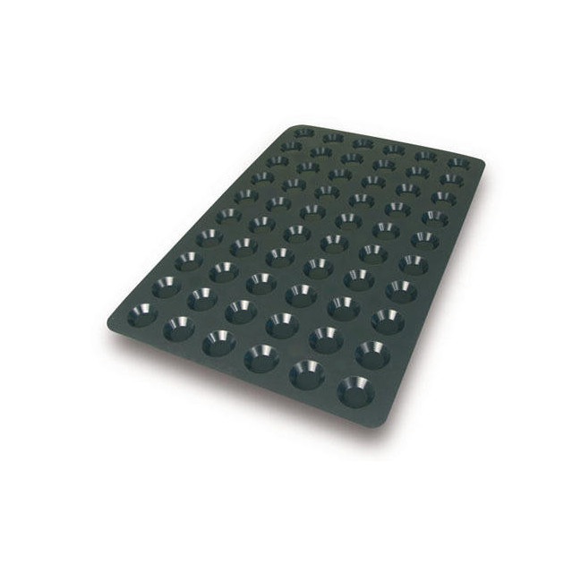 Moule silicone tartelettes 4.4 cm silikomart