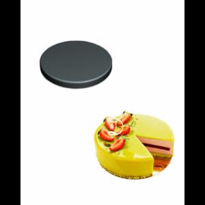 Moule Silicone 8 Fonds de Tarte Biscuit Ø14 x 2,5 cm 382ml SilikoMart Professional