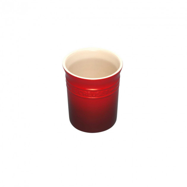 Pot a ustensiles Cerise (rouge) 1.10 L Le Creuset