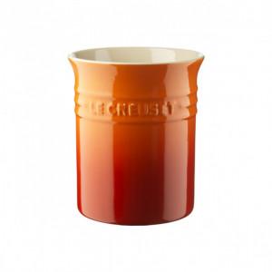 Pot à ustensiles Volcanique (orange) 1.10 L Le Creuset