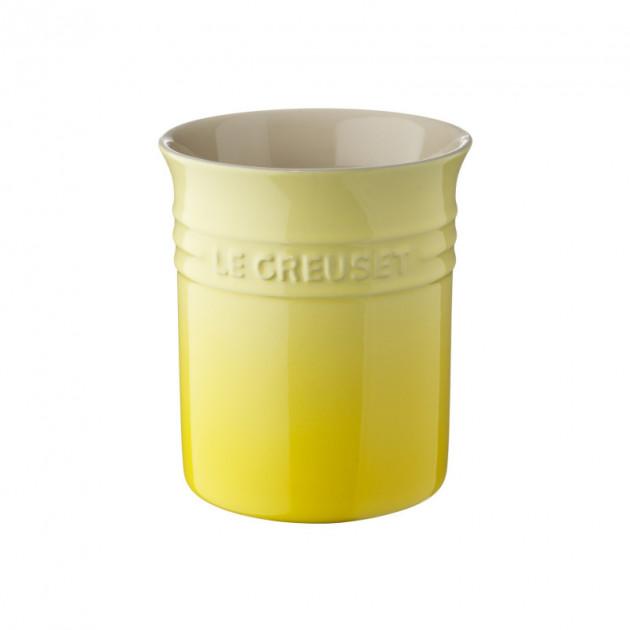 Pot a ustensiles Soleil (jaune) 1.10 LLe Creuset