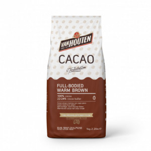 Cacao en Poudre Brun Corsé 1kg Van Houten