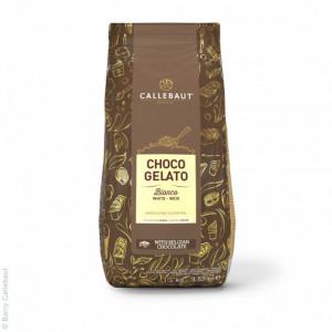 Choco Gelato Bianco Blanc 1,6kg Callebaut