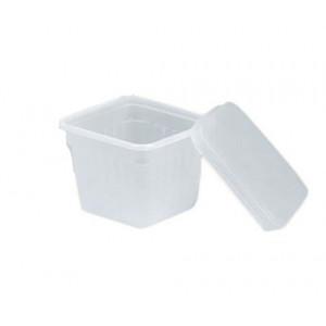 Bac à Glace 1 L Plastique (x25) avec couvercle