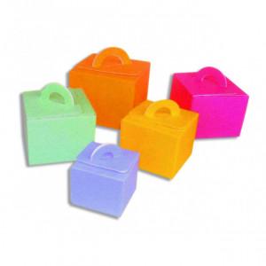 Boîte Isotherme pour Glace 1,5 L (x25) Orange