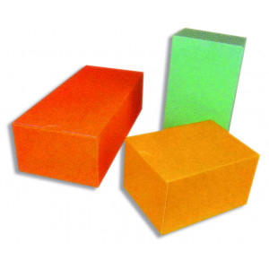Boîte Isotherme 43,8 x 20 x 13 cm Orange (x25)