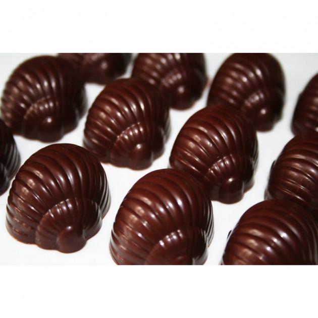 Moule Bonbon Chocolat Escargot (phot : la cuisine de Bernard)