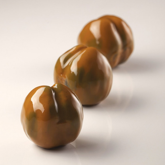 Moule Silicone 8 Marrons 85 ml Cedric Grolet Pavoni