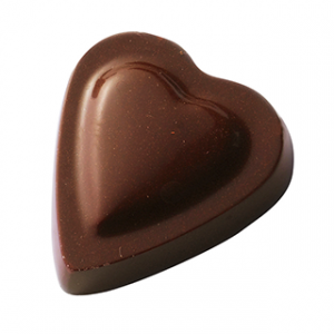 Moule Chocolat Petit Coeur 35x35mm (x24) Barry