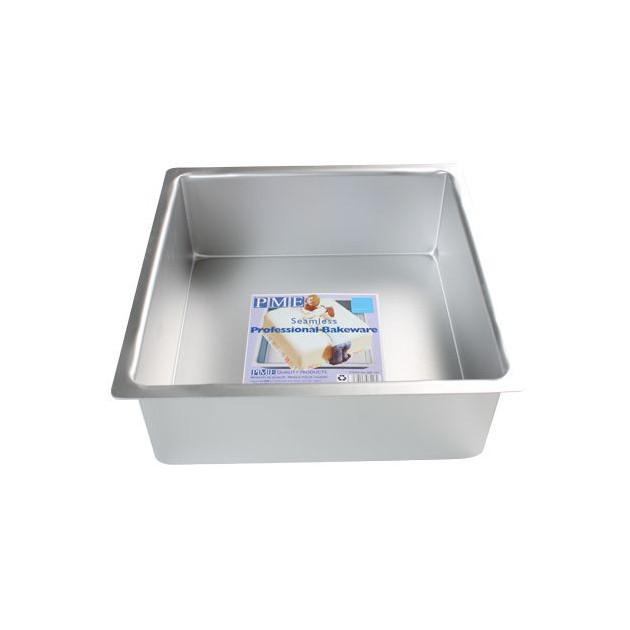Moule Carre 20 x 20 cm H.10 cm Aluminium PME