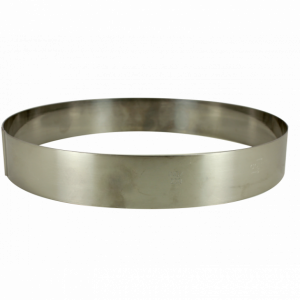 Cercle à Entremets Inox Ø 20 cm x 3,5 cm Gobel