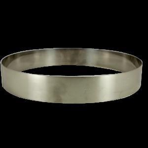 Cercle à Entremets Inox Ø 28 cm x 3,5 cm Gobel