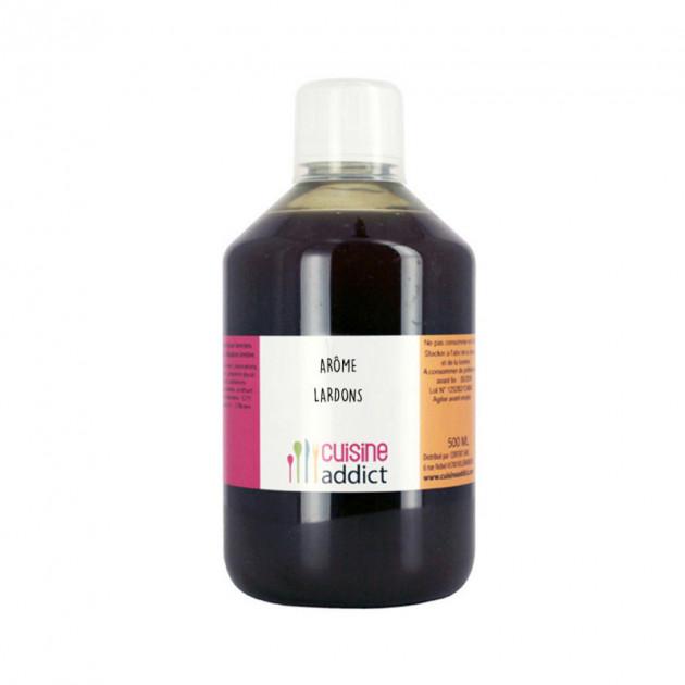 Arome alimentaire Lardons 500 ml Cuisineaddict