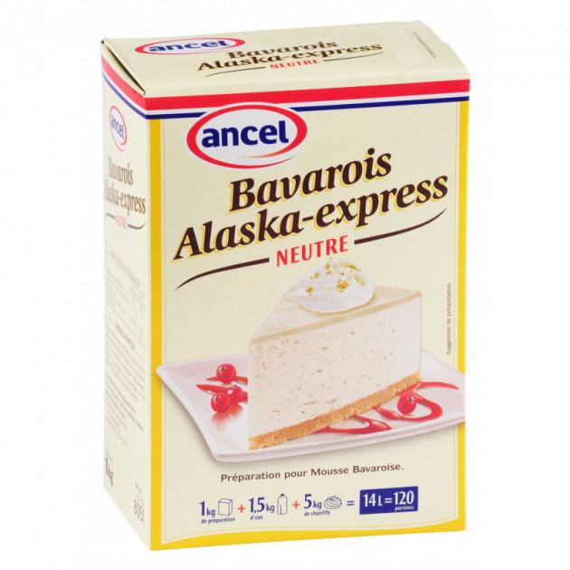 Preparation bavarois Alaska neutre 1 kg Ancel