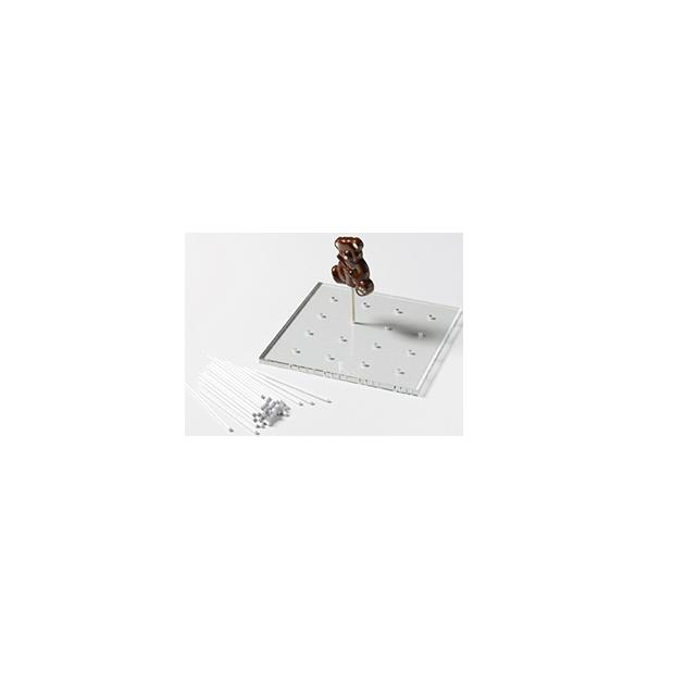 Presentation des Batons de Sucettes en Chocolat