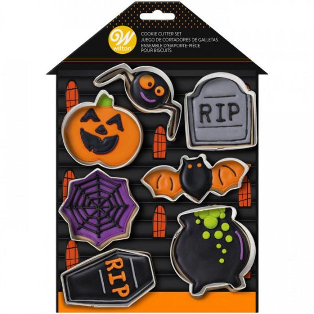 Emportes-Pieces Halloween (x7) Wilton