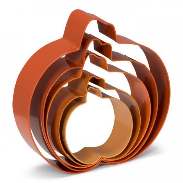 Emportes pi/èces d/écoupoirs plastique Citrouille