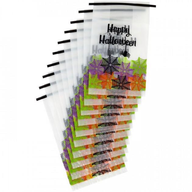 Sachet Bonbon Happy Halloween 133x228mm (x10)