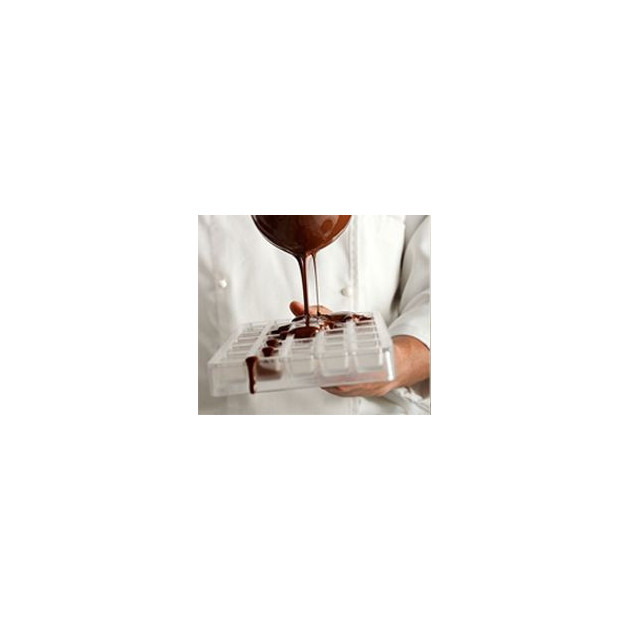 Plaque a chocolat polycarnonate