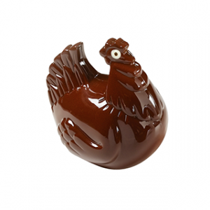 Moule à Chocolat Poule 100 mm (x2) Barry