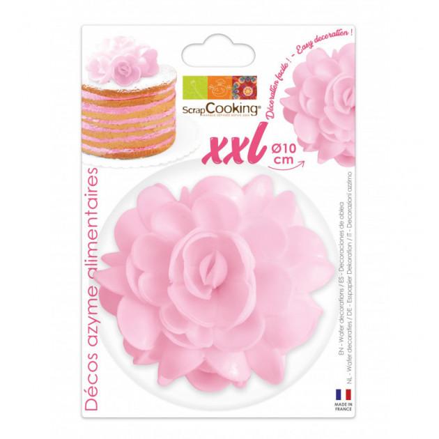 Fleur Azyme Rose XXL 10cm Scrapcooking