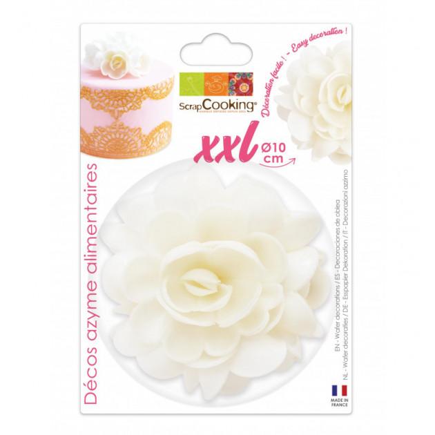 Fleur Azyme Blanc XXL 10cm Scrapcooking