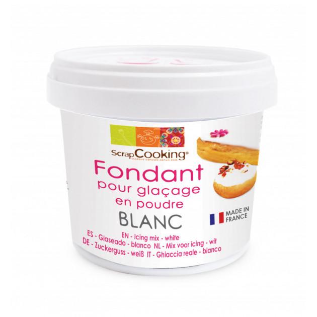 Fondant pour Glaçage Blanc 150g Scrapcooking