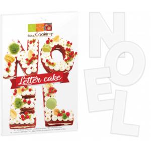 Kit Letter Cake Noël Scrapcooking