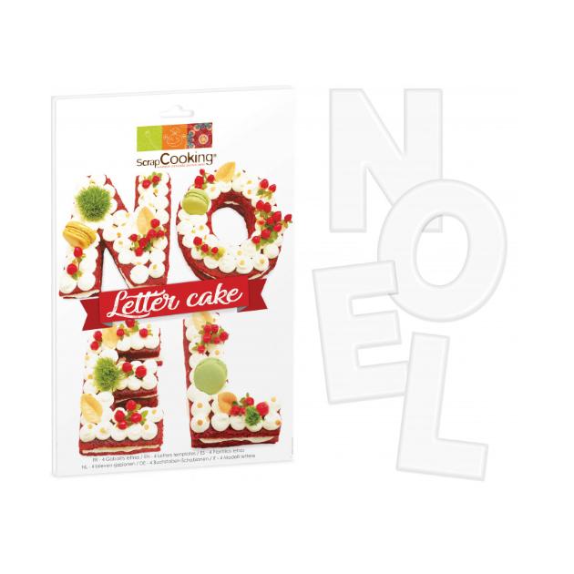 Kit Letter Cake Noel Scrapcooking