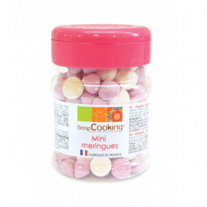 Mini Meringues Rose et Parme 35g Scrapcooking