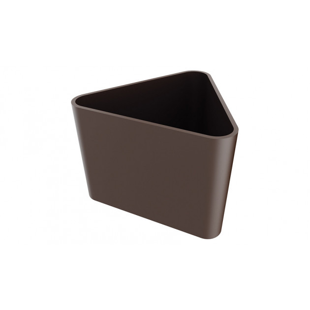 Moule a Chocolat Coupelle Triangulaire 35 mm (x18) Pop Chocolat
