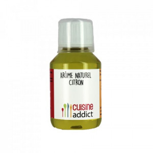 Arôme Alimentaire Naturel Citron 115 ml Cuisineaddict