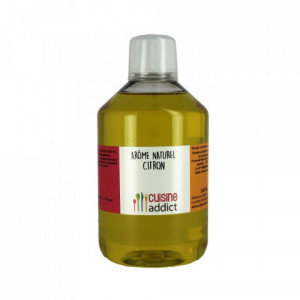 Arôme Alimentaire Naturel Citron 500 ml Cuisineaddict