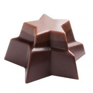 Moule Chocolat Étoiles Empilées 36 mm (x24) Pop Chocolat