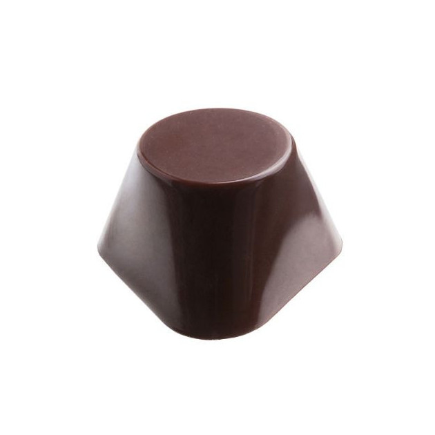 Moule Chocolat Pralines Tricone 32 mm (x24) Pop Chocolat