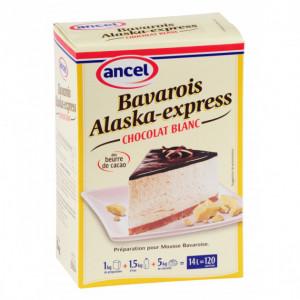 Prép. bavarois Alaska-Express Cacao blanc 1 kg