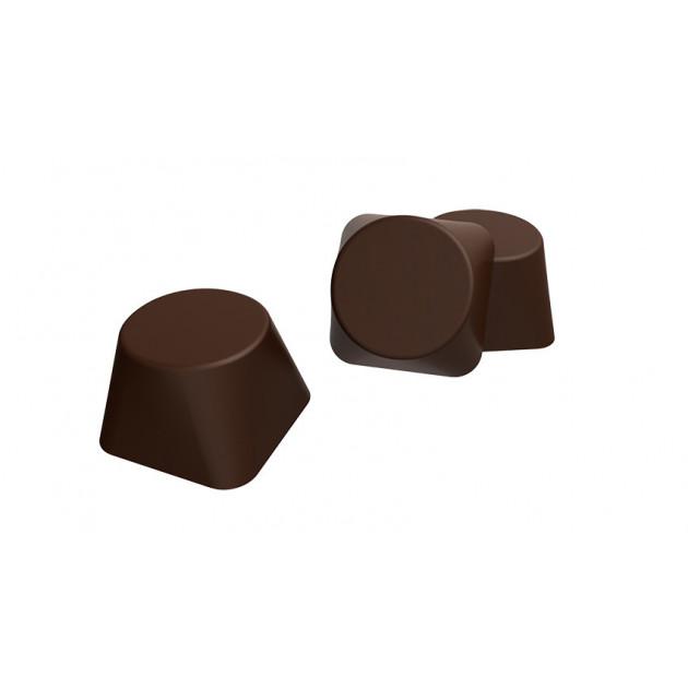 Presentation des Chocolats Quadricones
