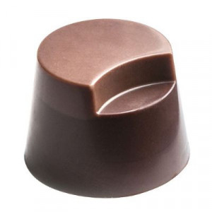Moule Chocolat Pralines Cylindres Coupés Ø 27 mm (x28) Pop Chocolat