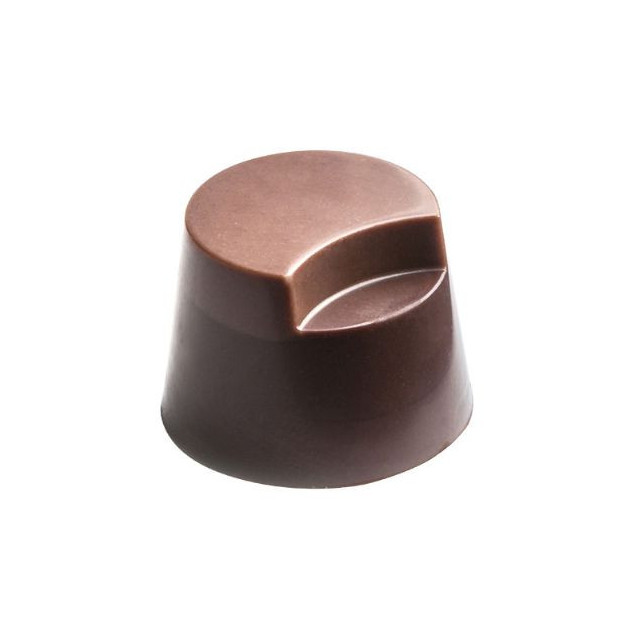 Moule Chocolat Pralines Cylindres Coupes Ø 27 mm (x28) Pop Chocolat