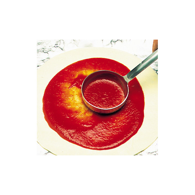 Louche Pizza fond plat Ø 10 cm