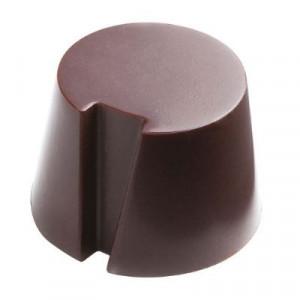 Moule Chocolat Pralines Cylindres Biseautés Ø27 mm (x28) Pop Chocolat