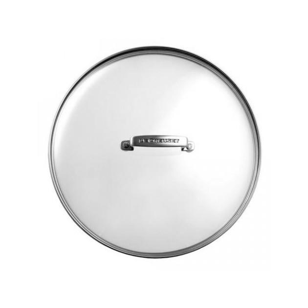 Couvercle en verre 28cm Le Creuset Les Forgees