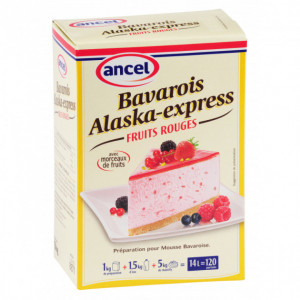 Préparation bavarois Fruits des bois 1 kg Alaska-Express