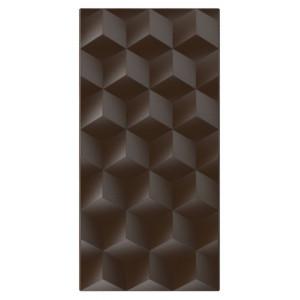 Moule Chocolat Tablette Effet Cube (x3) Pop Chocolat